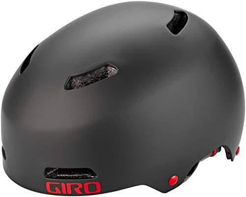 Giro Quarter FS BMX Dirt Fahrrad Helm schwarz/rot 2019: Größe: S (51-55cm)