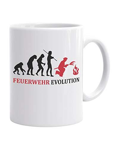 Jayess - Feuerwehrmann Kaffeebecher - Feuerwehr Evolution
