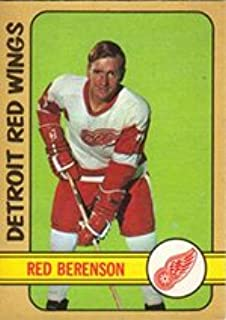 1972 O-Pee-Chee Regular (Hockey) card#123 Red Berenson of the Detroit Red Wings Grade Very Good