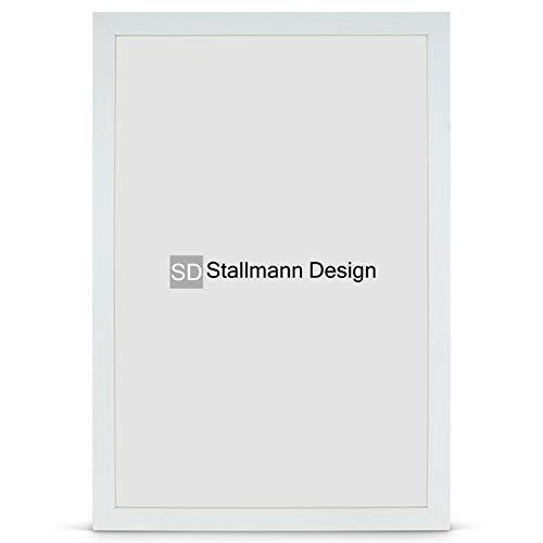 Stallmann Design Bilderrahmen New Modern 50x70 Puzzleformat cm birke Rahmen Fuer Dina 4 und 60 andere Formate Fotorahmen Wechselrahmen aus Holz MDF mehrere Farben wählbar Frame für Foto oder Bilder