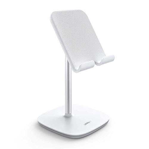 UGREEN Tablet Ständer Tablet Halterung Verstellbarer Ständer für Tablet Halter kompatibel mit iPad Pro 2020, Surface Pro 7, Huawei MediaPad, Samsung Galaxy Tab, E-Reader, iPhone 11 usw. bis 12.9 Zoll