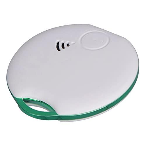 EVTSCAN 1-Pack - Rastreador Inteligente de Mascotas Bluetooth WiFi, buscador de Llaves y localizador de artículos para Llaves, Bolsos y más, Resistente al Agua