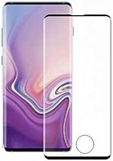 واقي شاشة كامل من الزجاج المقوى المنحني لهاتف سامسونج جالكسي S10 / 9D، زجاج مقوى من الحافة الى الحافة لحماية هاتف سامسونج ...