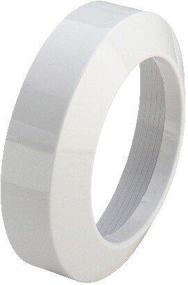 Viega 101671 Rosette Nr.3819 ø 110 mm, Höhe 50 mm, PVC weiß