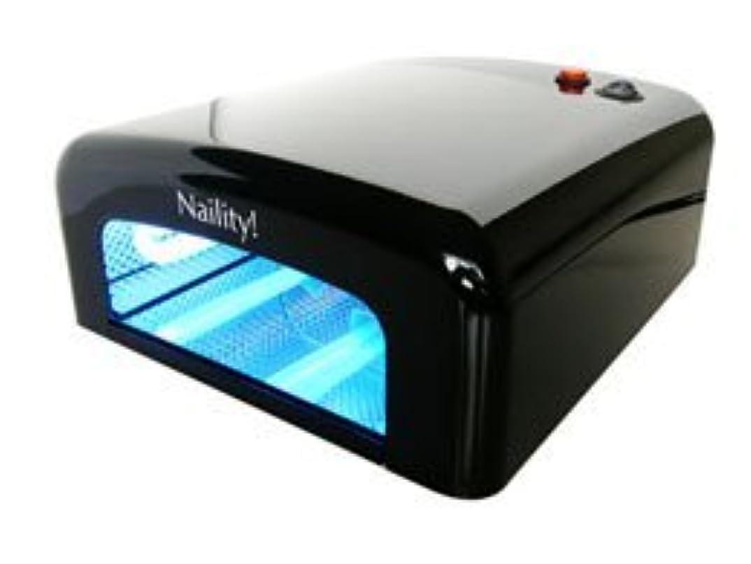 歩行者それぞれ衝突【ジェルネイル】Naility! UVライト 36W /Black <硬化が早い!ペディにも!>
