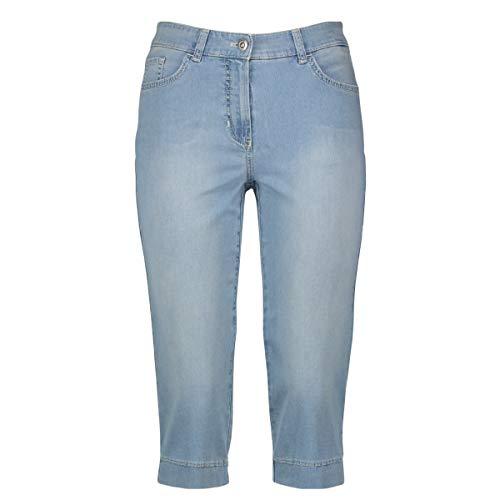 Gerry Weber Romy Capri Straight Fit (822299-66841) Light Blue Denim mit use 38