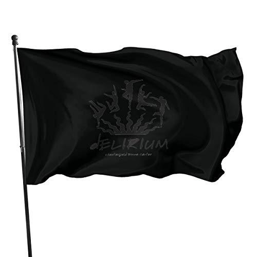 Pancarta de bandera del delirio