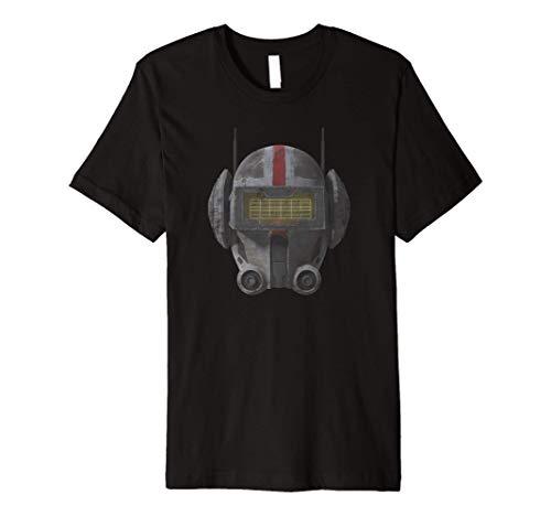 Star Was The Clone Wars The Bad Batch Tech Helmet Premium T-Shirt