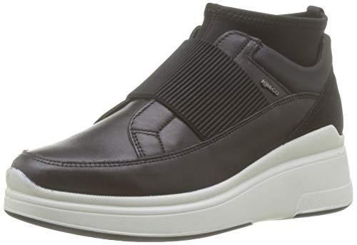IGI&CO Donna-41417, Sneaker a Collo Alto Donna, Nero (Nero 4141700), 38 EU