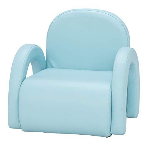 LJYLF Silla del sofá del solo niño, silla de los niños de la tapicería del PVC, para los niños preescolares