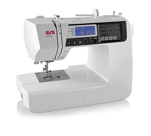 Alfa 2190 – Máquina electrónica para multitud de estilos y puntadas