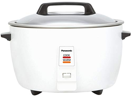 PANASONIC Electric Cooker 10 LTR. (White) (4.2 KG Cooking Capacity)