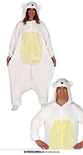 FIESTAS GUIRCA Disfraz de Oso Polar Adulto Unisex Talla L 42-44
