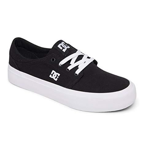DC Shoes Trase damskie buty typu sneaker, Czarny Czarno-bia?y - 36 EU