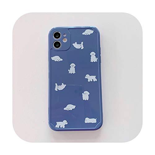 Dinosuar - Custodia morbida in TPU per iPhone 12 mini 11 Pro X XS Max XR SE 7 8 Plus in silicone orso proteggere la copertura del telefono Fundas-style 6-per 7 plus o 8Plus