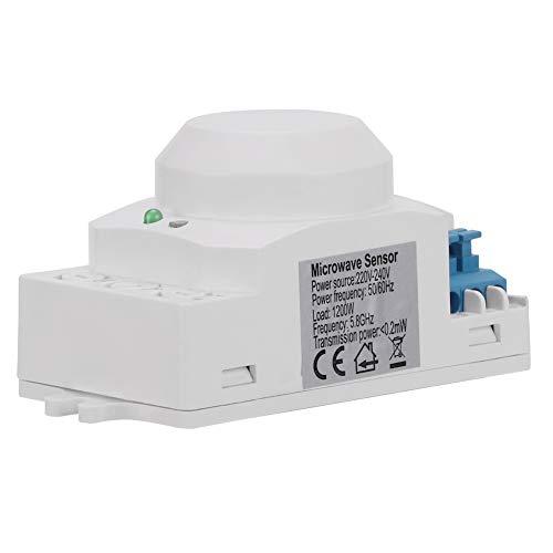 Changor Interruptor de Sensor de Ahorro de energía, Cable Neutro 8.7 *...