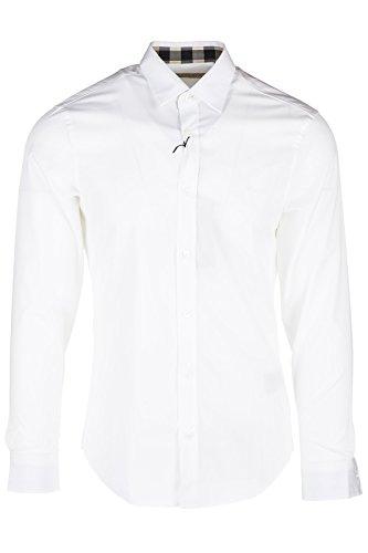 BURBERRY Herren Freizeit-Hemd weiß weiß X-Large