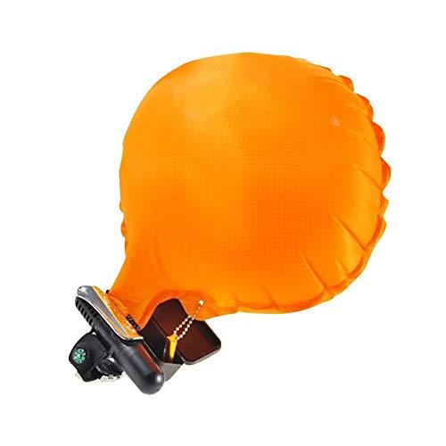 Ethic Tragbares Rettungsgerät Floss Armband Armband tragbares Anti-Ertrinken mit aufblasbarem Gasbag Schwimmen Tow Float für Erwachsene Kinderschwimmer, 1-2s schnelle Inflation, 100kg Auftrieb