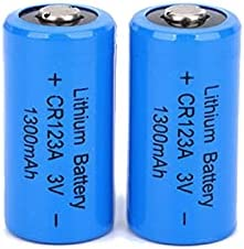 67% OFF of fixed price Lithium Batteries Sacramento Mall Cr123A 3V 1300Mah GPS Cell Battery for