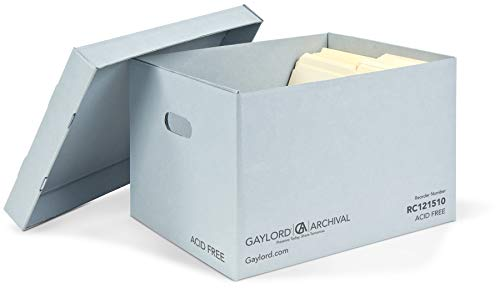 Gaylord Archival Record Storage Carton 12W x 15L x 10'H (Single Box)