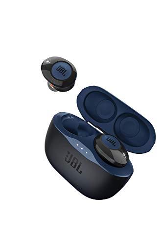 JBL TUNE 120TWS - True Wireless in-Ear Headphone - Blue (Renewed)