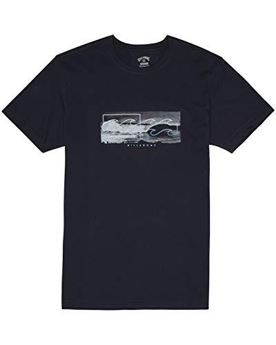 BILLABONG Inverse tee SS T-Shirt, Hombre, Navy, M