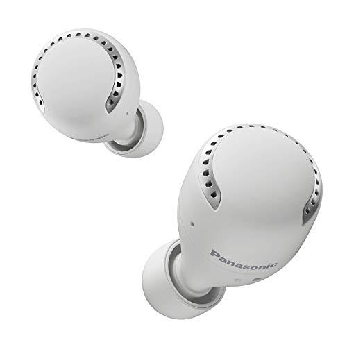 Panasonic RZ-S500WE-W True Wireless In-Ear Bluetooth Kopfhörer (Noise Cancelling, Ultra Kompakt, Sprachsteuerung, kabellos, bis 19,5 h Akkulaufzeit) weiß