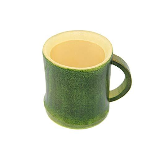 UU715 Fábrica Original Natural Creativo Bambú Infusor Agua Taza de café Taza hecha a mano para la oficina en el hogar