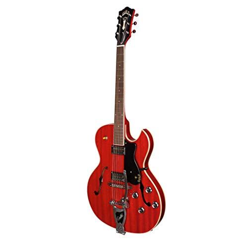 GUILD STARFIRE III BIGSBY CHERRY + CASE Guitarras eléctricas huecas y semihuecas