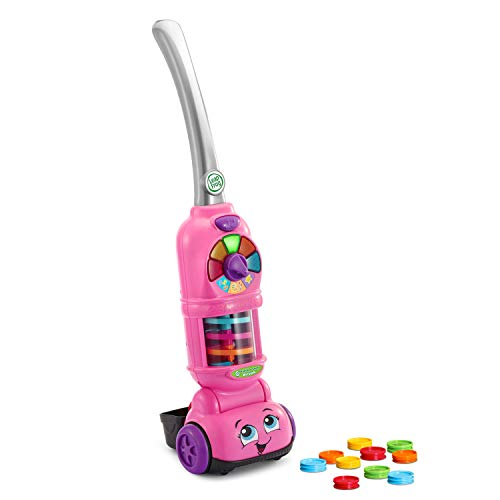 LeapFrog Pick Up and Count Vacuum, Pink