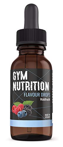 GYM - NUTRITION FLAVOR DROPS (Waldfrucht) Made in Germany - Traumhafter Geschmack