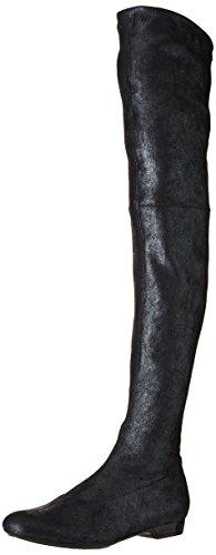 Robert Clergerie Fetel, Bottes Classiques Femme, Argent (Metal Silver 71), 39.5