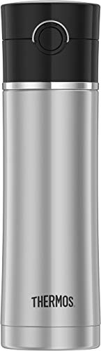 Thermos 16-Ounce Drink Bottle, 16oz, Black