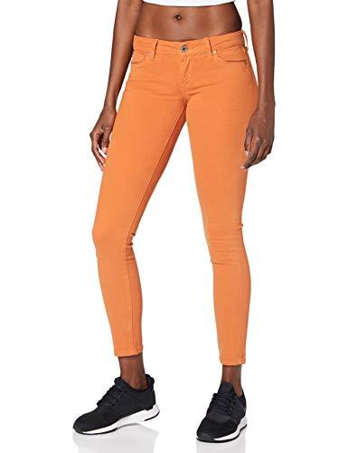 Pepe Jeans Damen Skinny Jeans Pepe Jeans, Orange (Jaffa 188), 32W