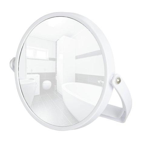 Wenko 3656510100 Noale Miroir Grossissant Blanc Dimensions 20 x 2,5 x 21,5 cm