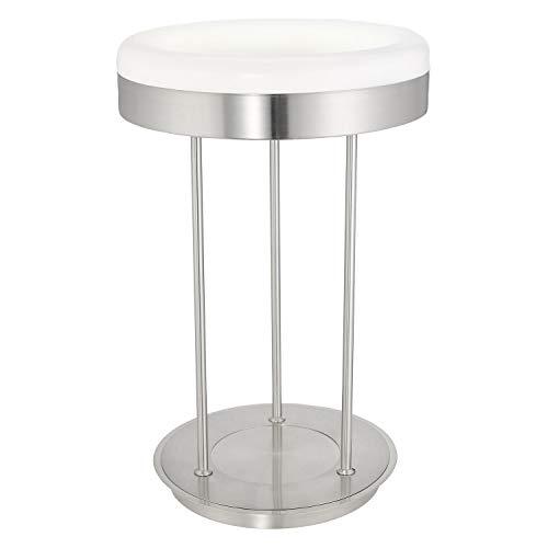 Lampe de table T5 NICKEL-M/blanc RINGO