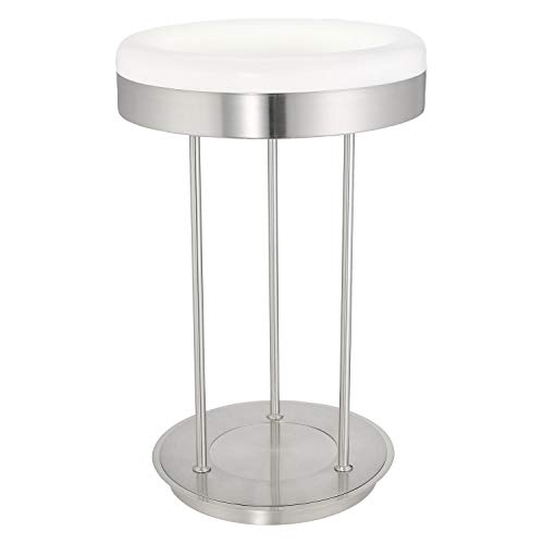 Lampe de table T5 NICKEL-M/blanc RINGO