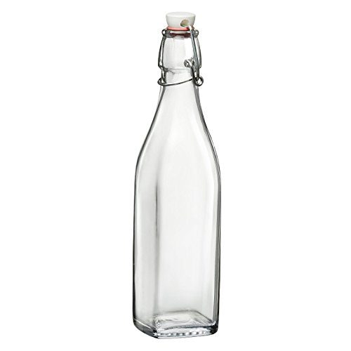 Bormioli Rocco Swing Glass 17 Ounce Bottle, Set of 4