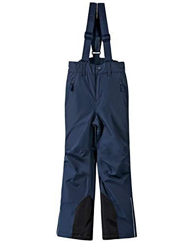 BenBoy Pantaloni Sci Bambini Ragazze Ragazzo Impermeabile Trekking Ski Pantaloni da Neve Arrampicata Escursionismo Invernali Pantaloni,KZ2216-Darkblue-116