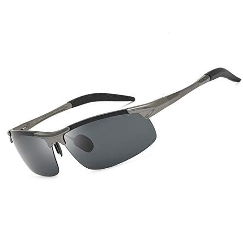 xiaohuozi Gafas de Sol Polarizadas Deportivas Gafas de Ciclismo Unisexo Adecuado para Conducir Sombras Ciclismo Correr Protección UV Embalaje de Caja