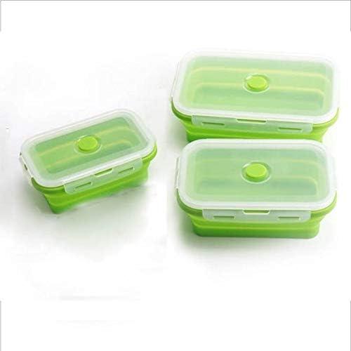 Alternative dealer Bento Boxes Collapsible Silicone Container Portable Leak-pr trust Food