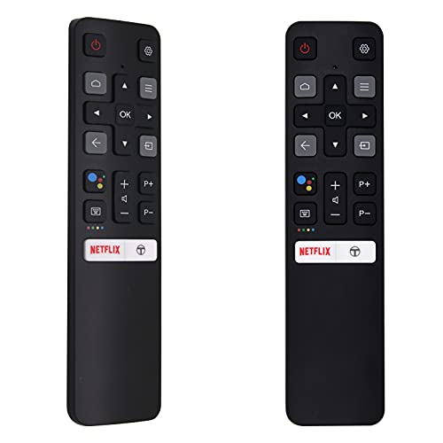 MYHGRC Replacement TCL Android TV Remote Control RC802V for 4K UHD TCL Smart TV Remote with Voice Key Commands