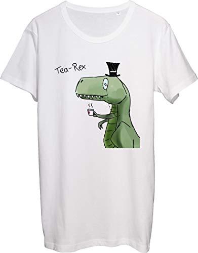 Tee Rex Looks Like A Sir Herren T-Shirt bnft Gr. XXL, weiß