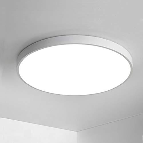 Anten Plafoniere da Soffitto, 24W 1920LM LED Lampada Tondo Sottile Plafoniera per Cucina, Bagno, Camera da Letto, Corridoio, Cantina, Ufficio, Bianco Naturale 4000K, Ø30cm, IP40