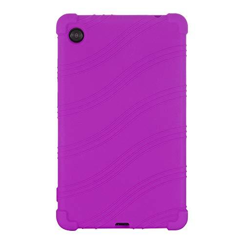 Gtagain Funda para Lenovo Tab M7 7 Pulgada - Silicona Suave Soporte Bolsa Ligero Caucho Fundas Blandas Protector para Lenovo Tab M7 TB-7305F/X/i Tablet