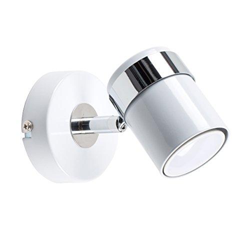 MiniSun - moderne, individuele en elegante 'Rosie' spot met een glanzende afwerking - wand-/plafondlamp