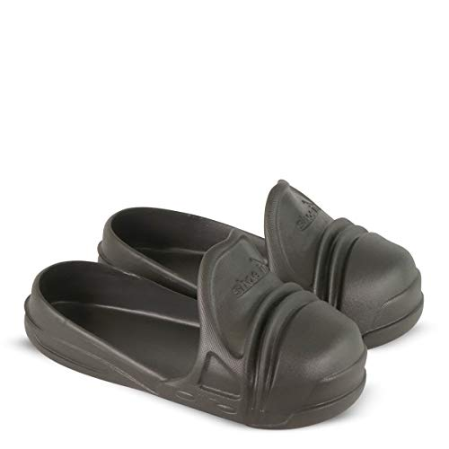 Thorogood Men's 161-0888 Shoe-in Closed Toe, Non-Safety Toe Overshoe, Charcoal - S (7-9.5 Women/5-8.5 Men)
