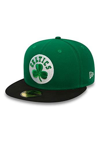 Casquette NEW ERA 59 fiftys – Boston Celtics – Green/Black, Vert, 7