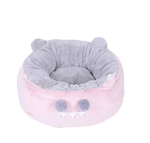 Pet Nest Kennel verwijderbaar huisdierbed Makkelijk schoon te maken Hondenhok Kennel Princess Pet Slaapmat Puppy 56 * 56 * 27Cm