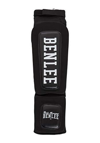 BENLEE Rocky Marciano Unisex– Erwachsene Flexy Woven Shin´n Step Guard, Black, S/M